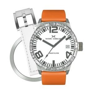 Dámské hodinky Marc Coblen s páskem a kroužkem navíc P71