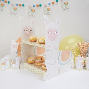 Papírový stojánek na sladkosti Neviti Llama Love