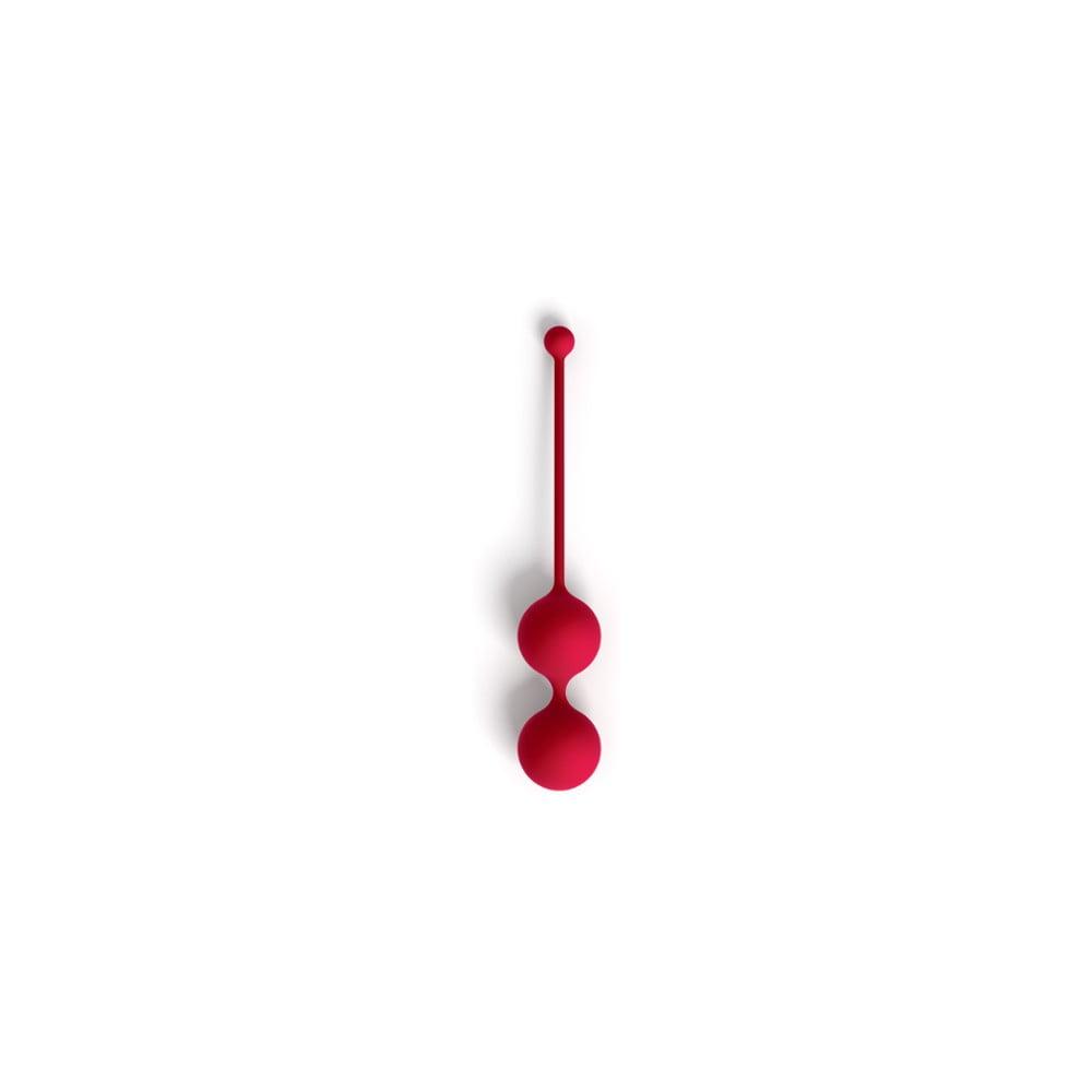 Červené designové venušiny kuličky Whoop.de.doo Light, 41 g