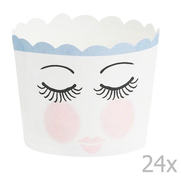 Sada 24 pečicích košíčků Miss Étoile Eyes