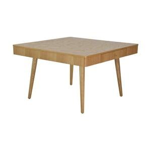 Hnědý konferenční stolek RGE Niles