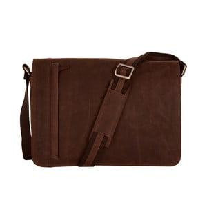 Pánská messenger taška Vintage Brown