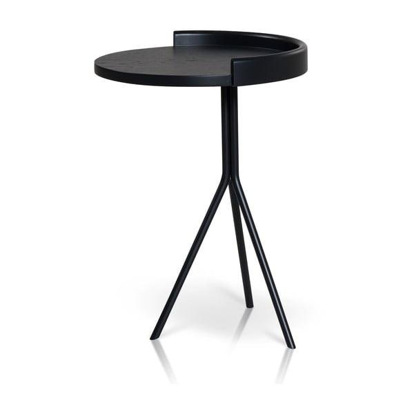 Odkládací stolek E-klipse AL2, černý