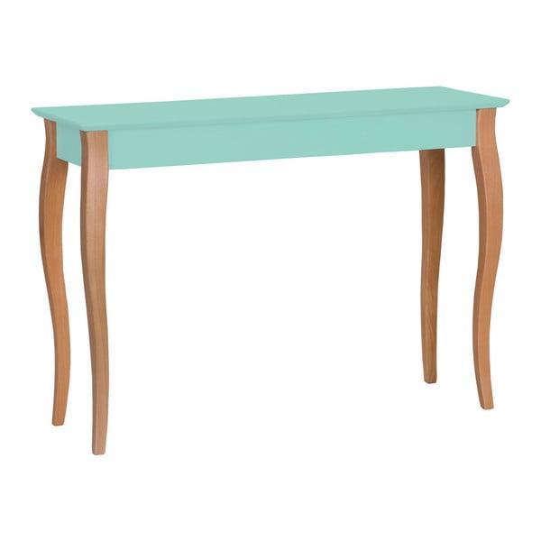 Lillo világos türkizkék asztalka, szélesség 105 cm - Ragaba