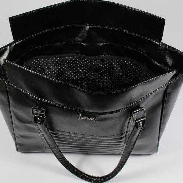 Černá kabelka Dara bags Futurio Extended