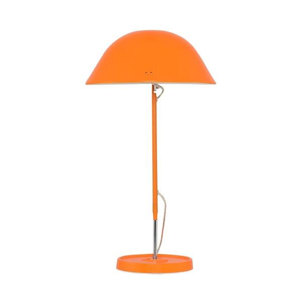Stolní lampa Newz, oranžová