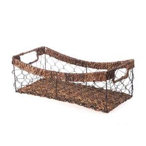 Proutěný košík Wicker, 37 cm