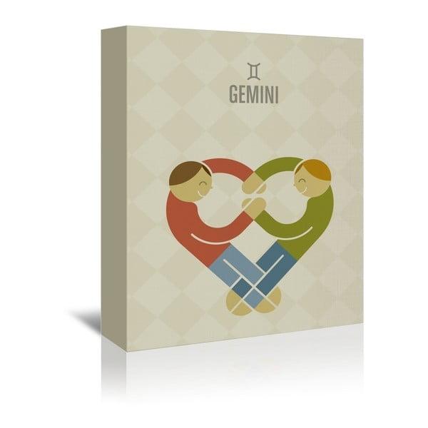 Obraz na plátně Gemini od Christiana Jacksona