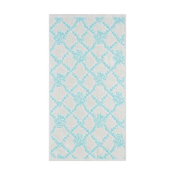 Modrý odolný koberec Vitaus Scarlett, 140x200cm