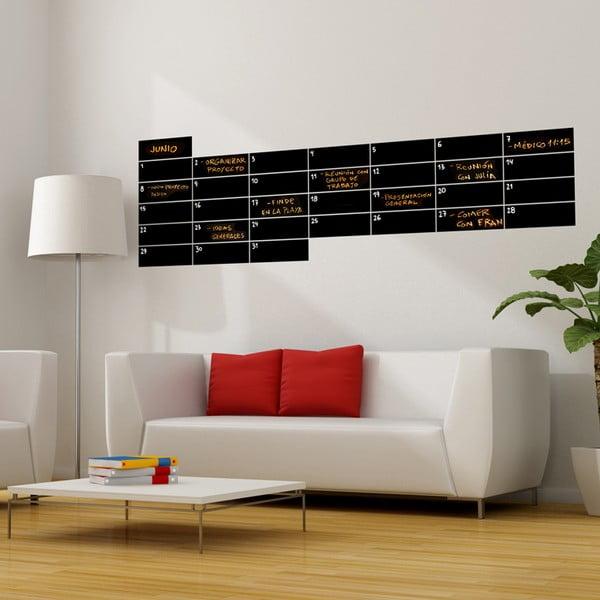 Tabulová samolepka Calendar