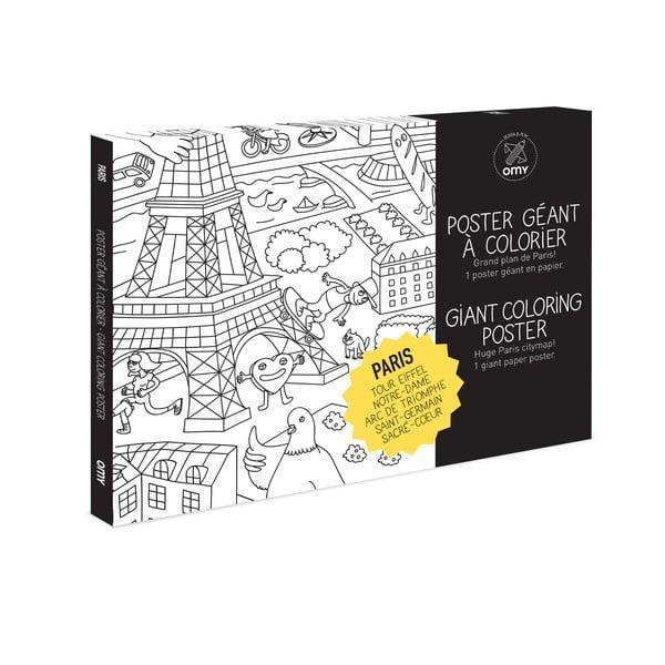 Omalovánka Paris