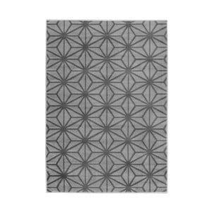 Šedý koberec Mazzini Sofas Cristal Dos, 200x290cm