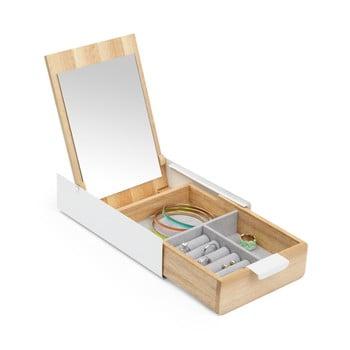 Cutie pentru bijuterii din lemn cu oglindă Umbra imagine