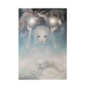 Poster de autor, Léna Brauner, În subconștient, 60 x 83 cm