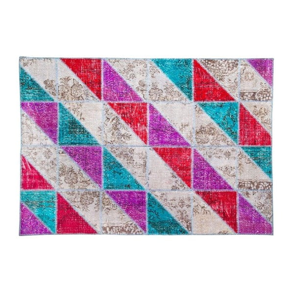 Vlněný koberec Allmode Sivas Multi III, 200x140 cm