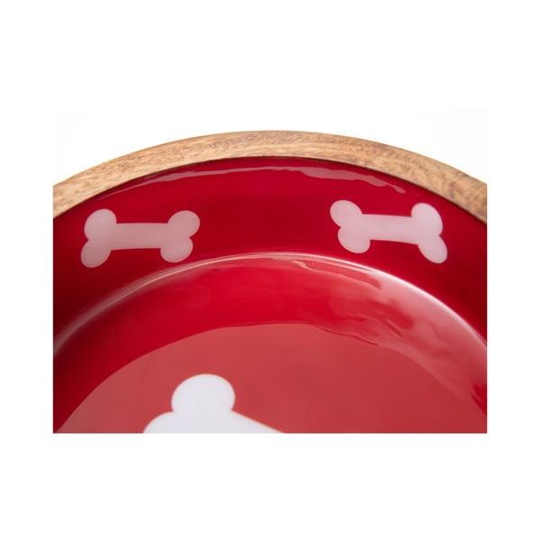 Dřevěná miska pro psy Marendog Natural, ⌀ 13 cm