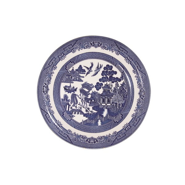Talíř Churchill China Blue Willow, 26 cm