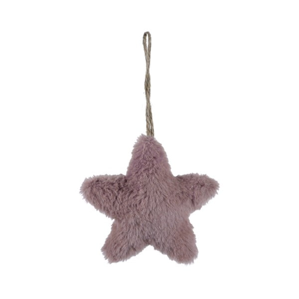 Závesná látková ozdoba v tvare hviezdy Ego Dekor, malá