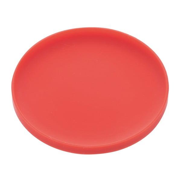 Červená podložka pod sklenice Yamazaki Tower Round