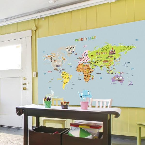 Autocolant Ambiance World Map