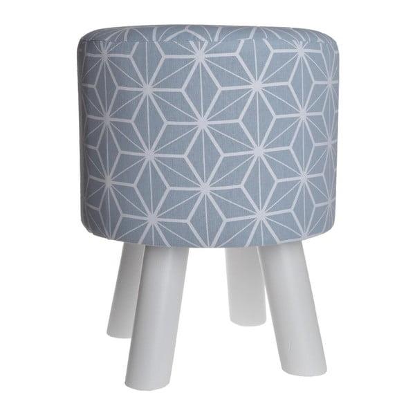 Stolička Geometric Blue