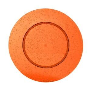 Oranžový plastový talíř Navigate Bubble