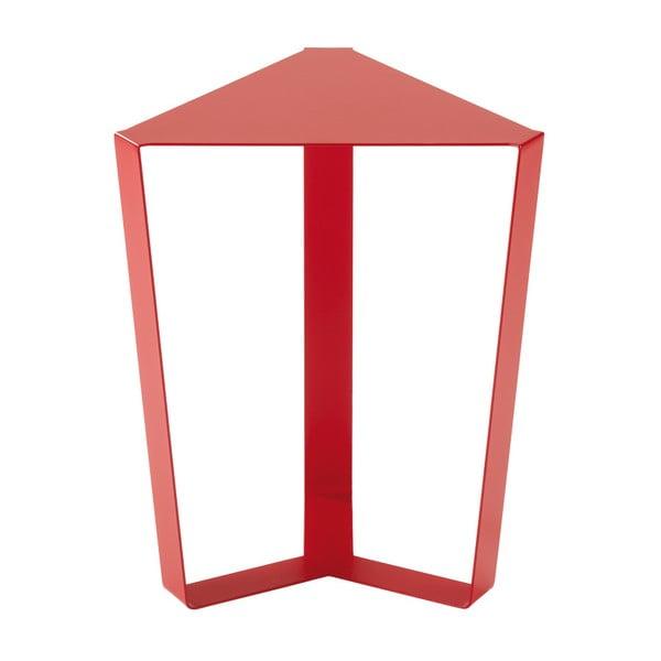 Červený odkládací stolek MEME Design Finity, výška47cm