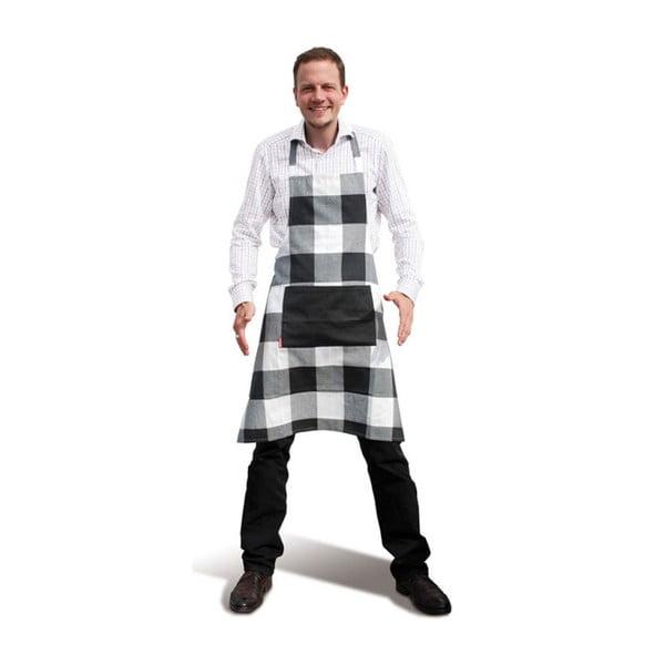 Kuchyňská zástěra Black Caros