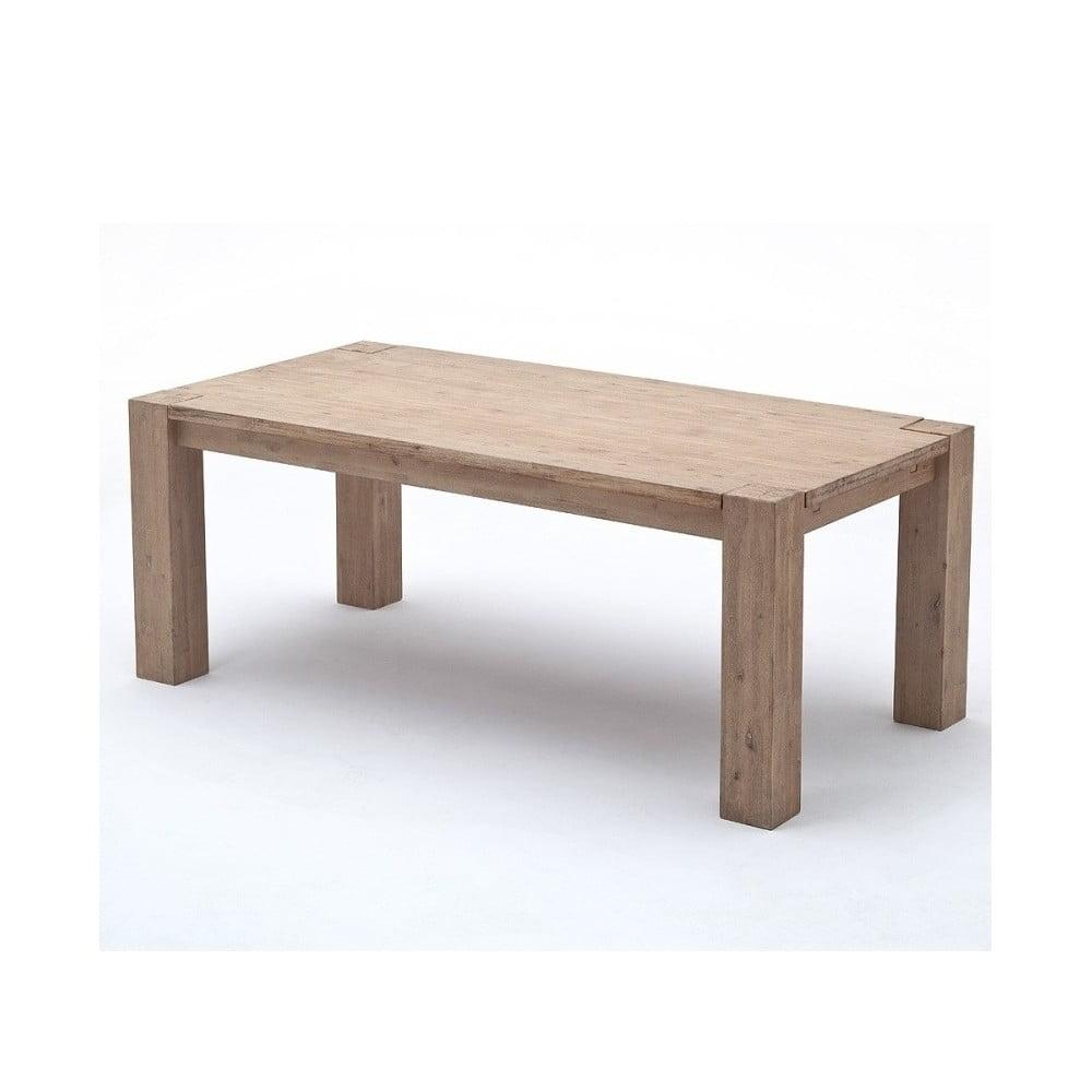 Světle hnědý jídelní stůl z akáciového dřeva SOB Sydney, 160 x 90 cm