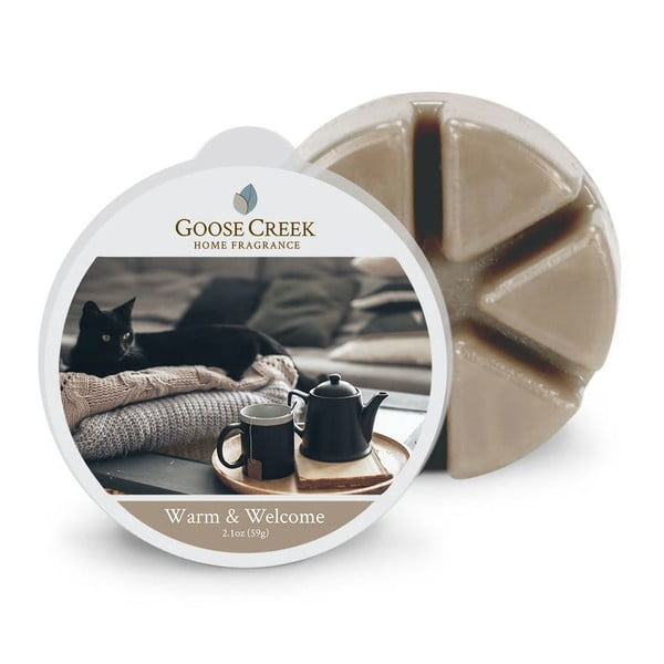 Ceară aromată pentru lămpi aromaterapie Groose Creek Warm & Welcome, 65 ore de ardere
