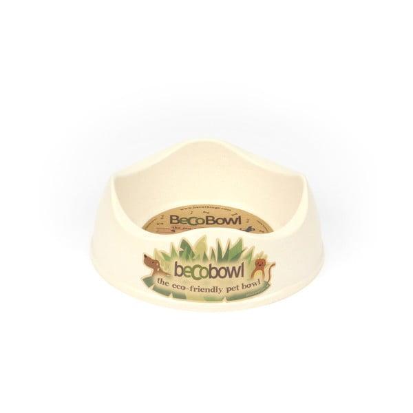 Psí/kočičí miska Beco Bowl 17 cm, přírodní