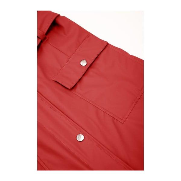 Jachetă damă impermeabilă Rains Curve Jacket, mărime L/XL, roșu închis