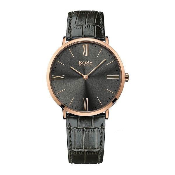 Pánské hodinky s koženým řemínkem Hugo Boss Ali