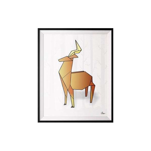 Plakát Deer, 30x40 cm