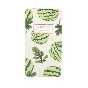 Plechový zápisník Sunshine, meloun