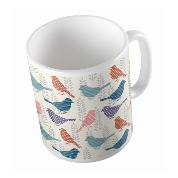 Keramický hrnek Sparrow Bird, 330 ml