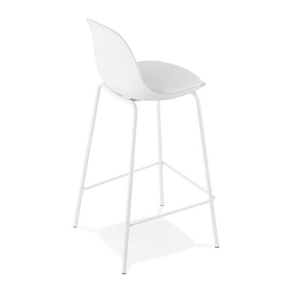 Bílá barová židle Kokoon Escal Mini