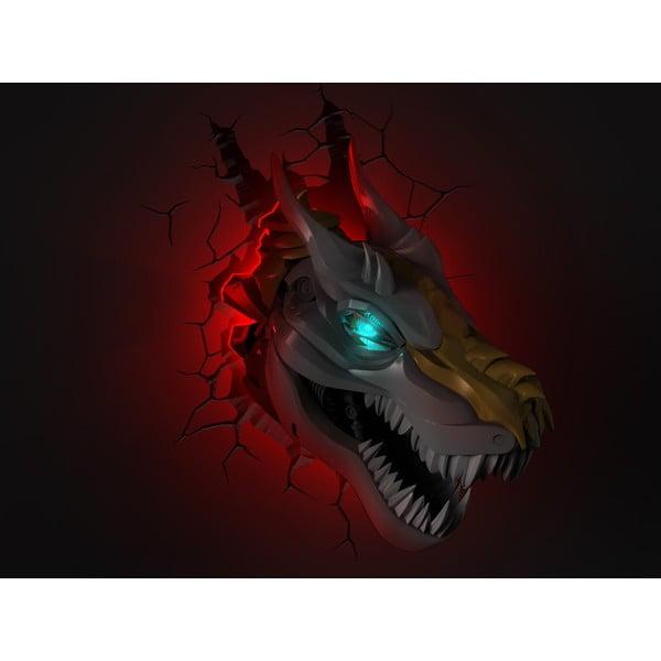 Nástěnné světlo s nálepkou Tnet Transformers Grimlock