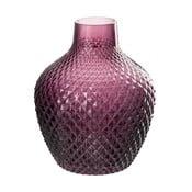 Skleněná váza J-Line Tria, výška 20 cm