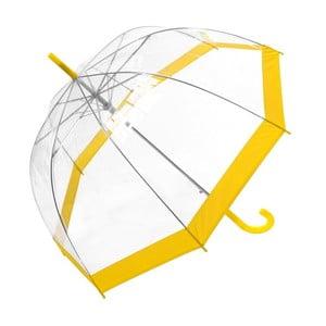Deštník se žlutými detaily Transpo