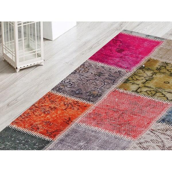 Koberec Multicolor Patchwork, 80x200 cm