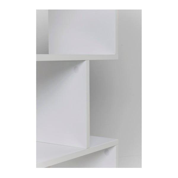 Bílá knihovna Kare Design Zick Zack, 150 x 60 cm
