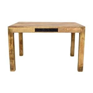 Jídelní stůl z masivního mangového dřeva Massive Home Bella, 90x120cm