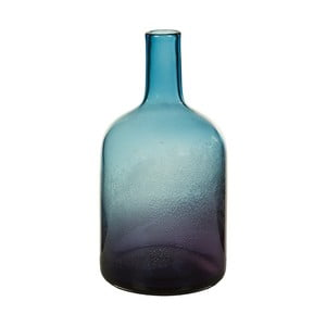 Vază decorativă din cristal Santiago Pons Ryde, înălțime35cmm albastru