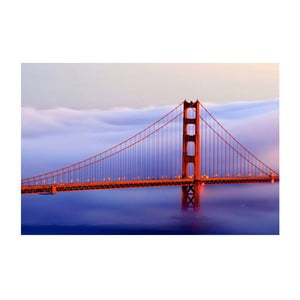 Obraz na skle San Francisco, 40x60 cm