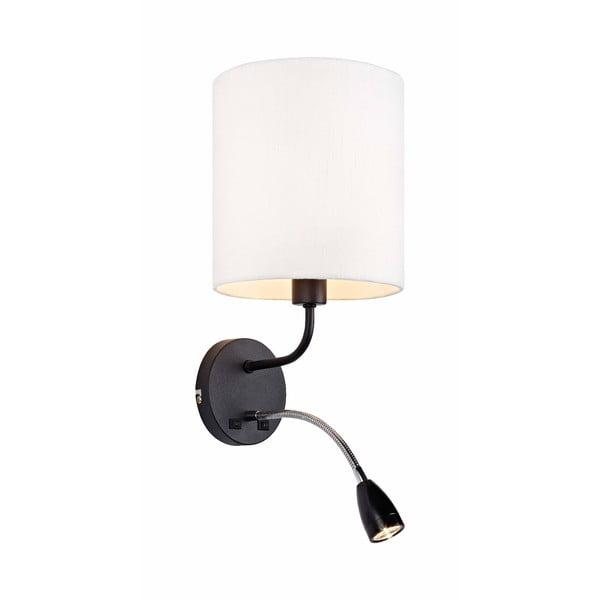 Černo-bílé nástěnné svítidlo Markslöjd Mason