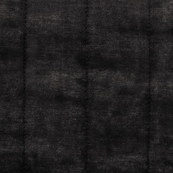 Tmavě šedé křeslo Vivonita Leila