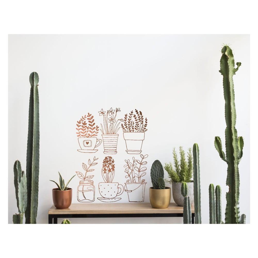 Samolepka na zeď Surdic Plants