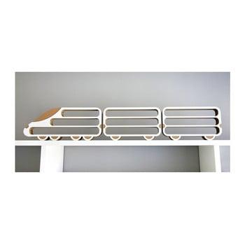 Set 3 rafturi Unlimited Design, locomotivă-vagon imagine
