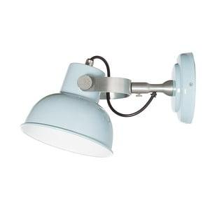 Světle modré nástěnné svítidlo Look4Lamps Office